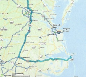 Summer Saver Route to the NC Outer Banks!